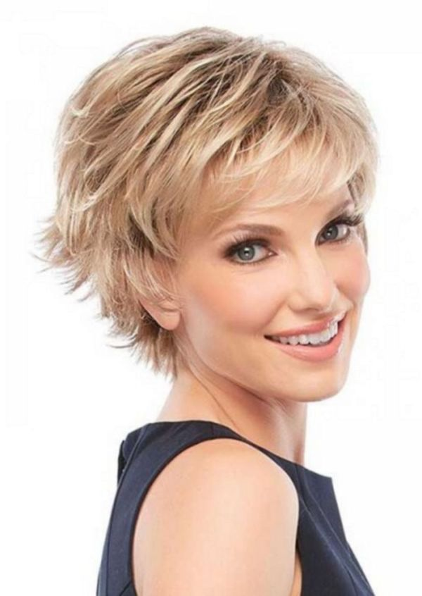 Womens shaggy hairstyles for short hair 7