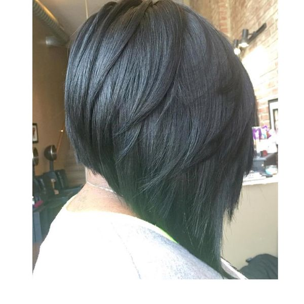Wonderful Layered Long Bob Haircut0