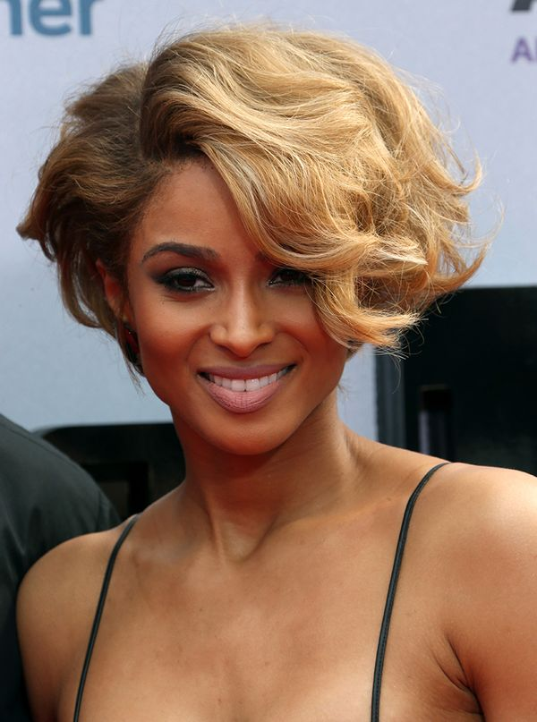 Female Short Curly Black Hair Styles 4
