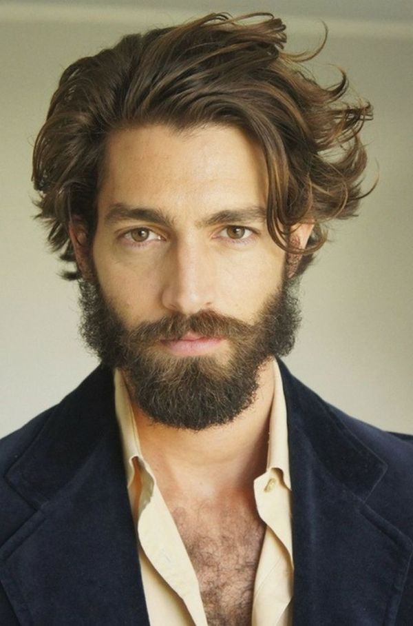 Messy Medium Length Hairstyles for Men 3