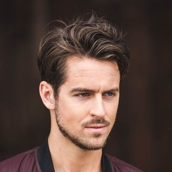 Trending Medium Length Hairstyles for Boys 2