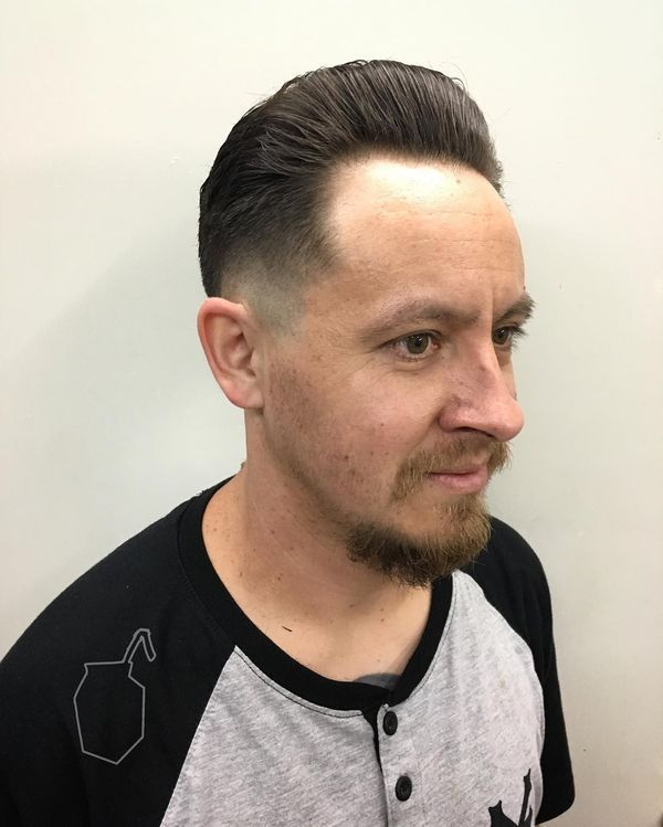 Bad Hairline: What Hairstyles to Choose if You Have a Receding Hairline 2