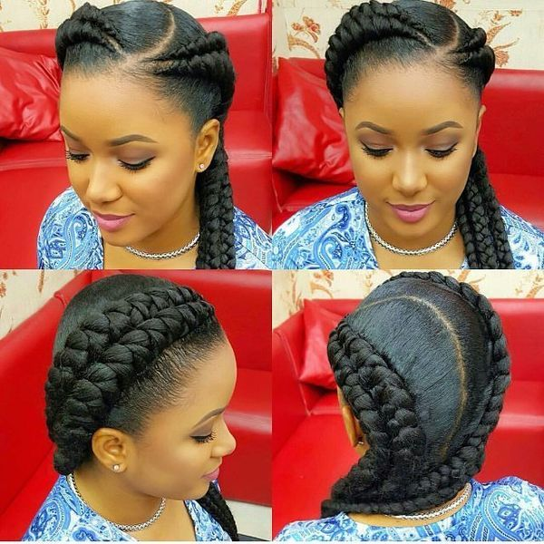 Trending Hairdos with Braids 1