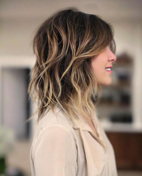 Best medium length shag haircuts 4