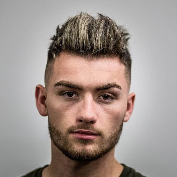 Male Spiky Hairstyles to Give a Try to 2