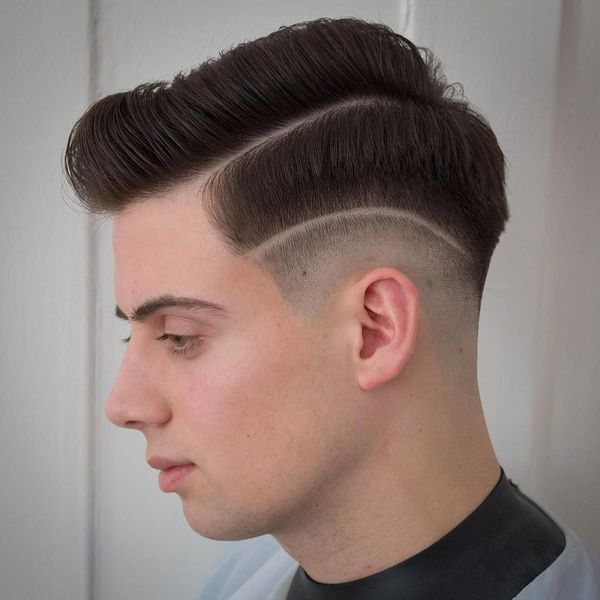 Cool Comb Over Fade Haircuts 4