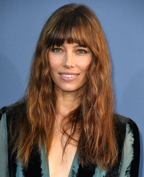 Cute long hairstyles with bangs and short layers 1
