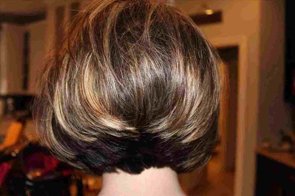 Hairstyles with Hair Stacked in the Back 3