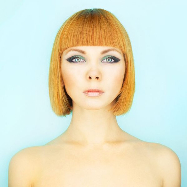 Ideas of Aline Bob with Bangs 2