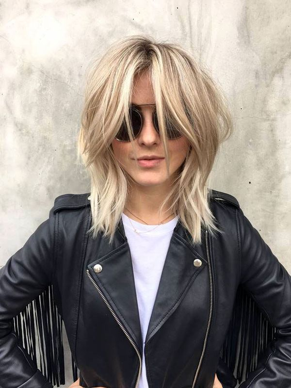 Modern shag haircut for women 3