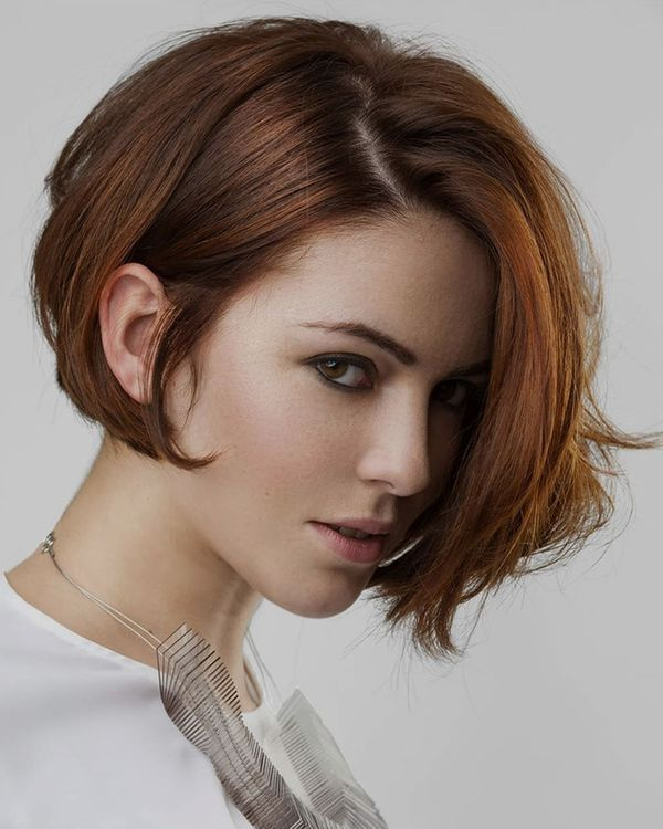 Short Asymmetrical Bobs for Straight Hair 2