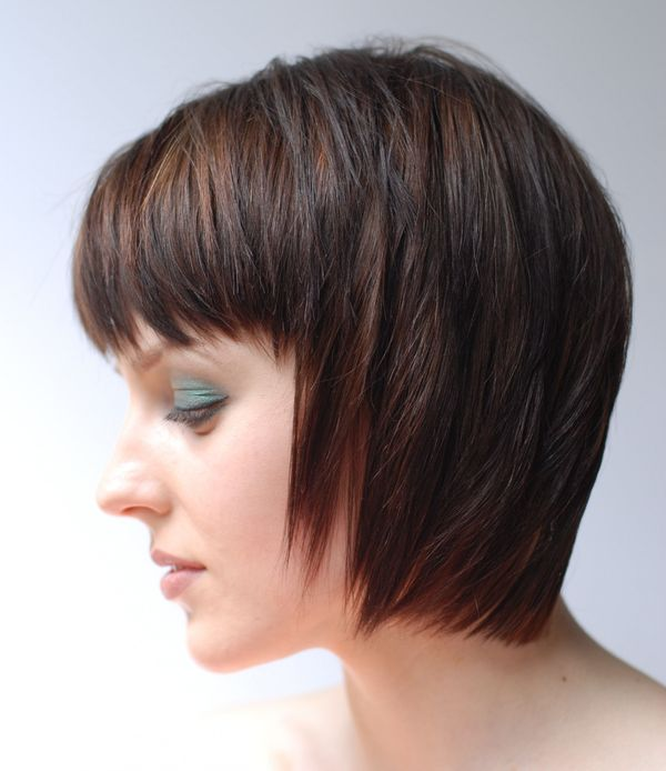Stacked Inverted Bob Style 1