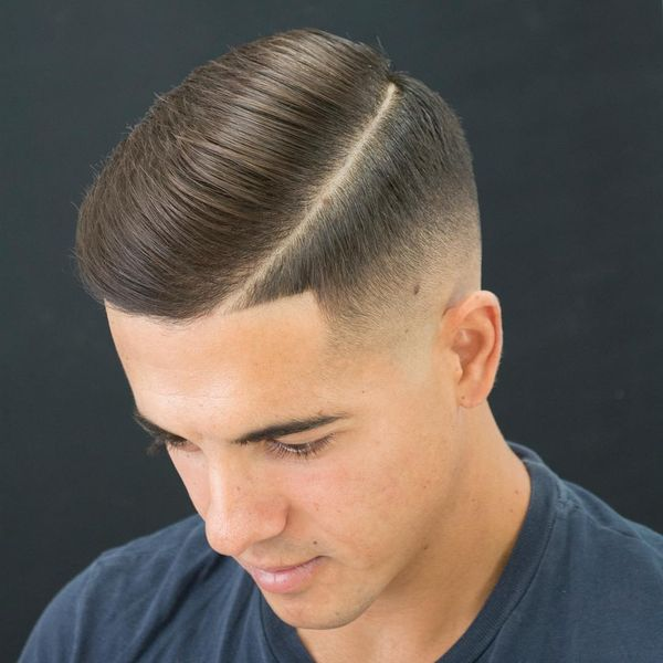 Stylish Short Comb Over to Try 3