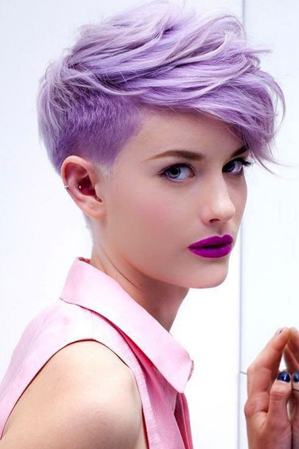 Very Short Asymmetrical Haircuts for Girls 1