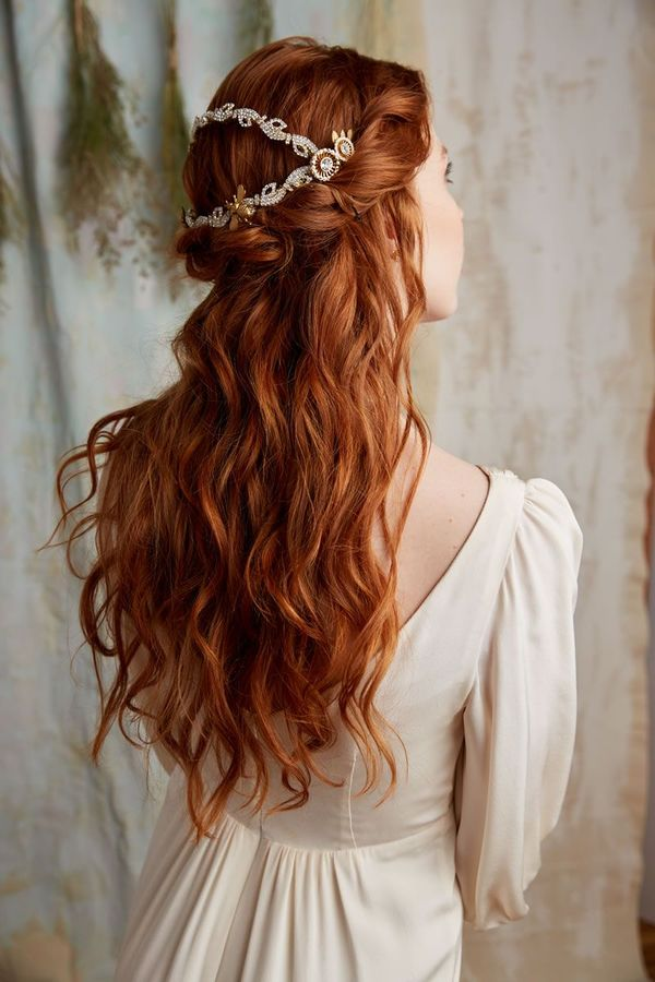 Amazing Half Up Half Down Wedding Hairstyles For Long Hair 1