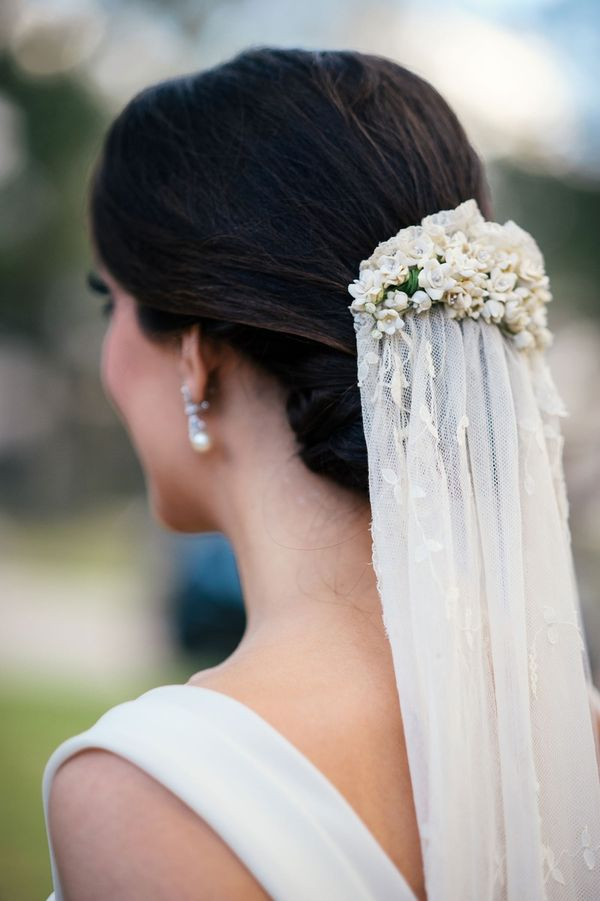 Beautiful Long Wedding Hairstyles With Veil 4