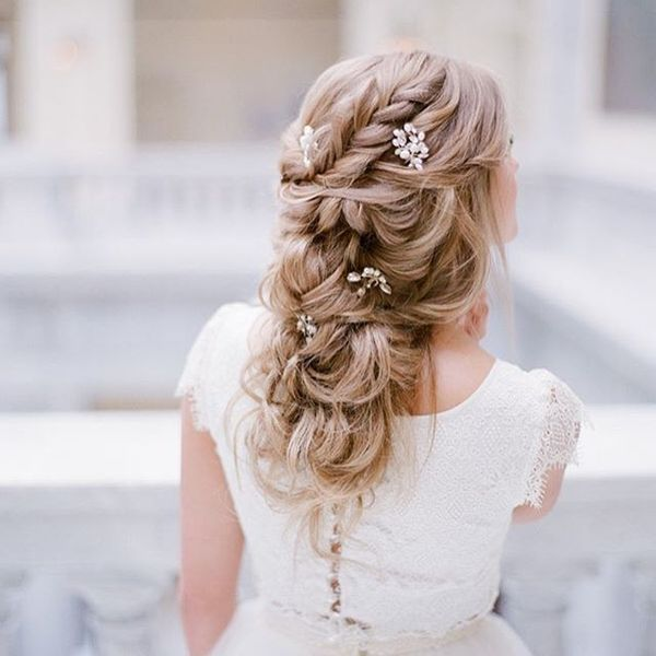 Bridesmaid And Wedding Guest Hairstyles For Long Hair13