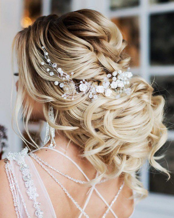 28 Prettiest Wedding Hairstyles: Wedding Hairstyles For Long Hair, Bridal Updos For Long