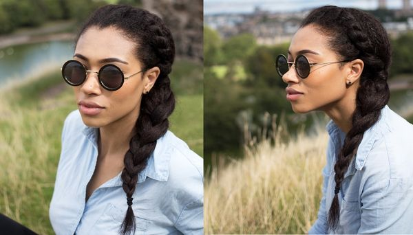 Quick and Easy Natural Hairstyles for Long Black Hair 1