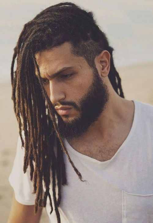 Stylish Hairstyles For Long Dreads 2
