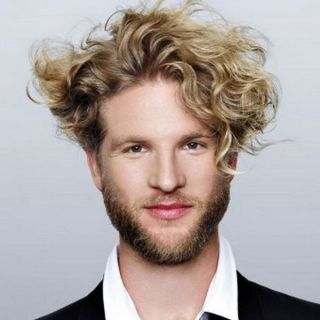 Male Medium Blonde Hairstyles to Try 3