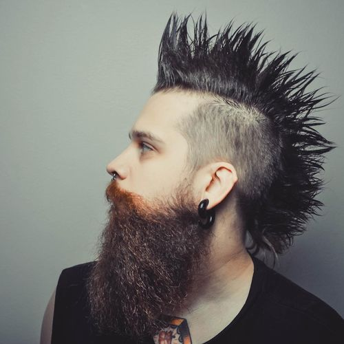 Male Mullet Fade Sides 3