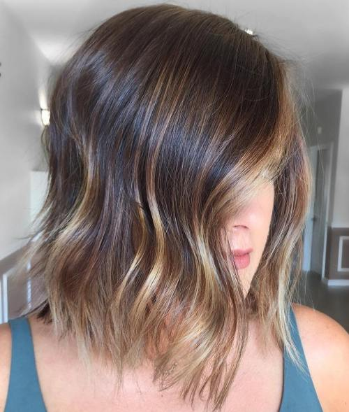 Short Brown Hair With Blonde Highlights 3