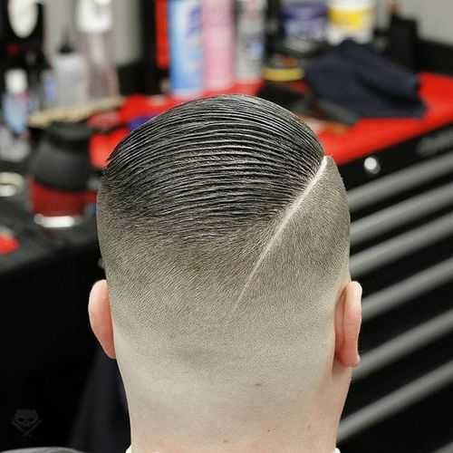 Badass Military Undercut 3