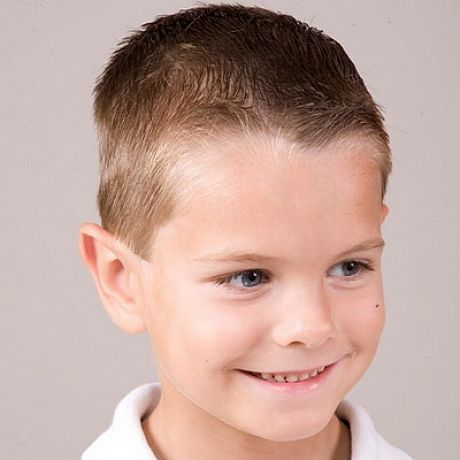 Cool Army Haircut Styles For Little Boys 1