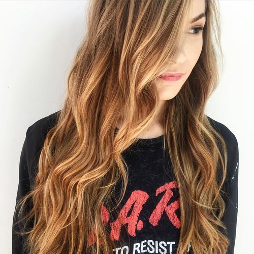Light Brown Hair Color With Blonde Highlights 2