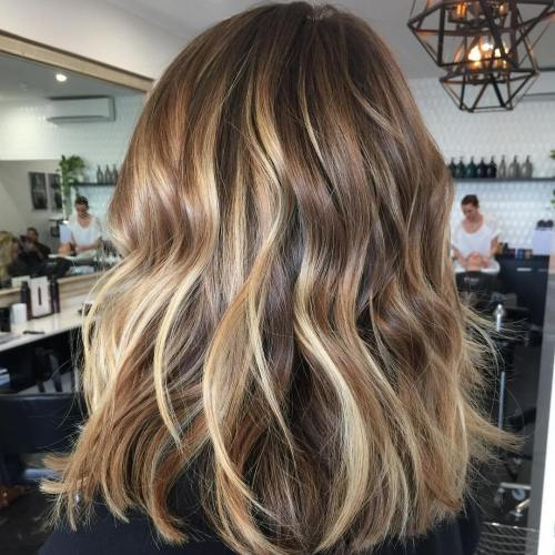 Light Brown Hair Color With Blonde Highlights 3