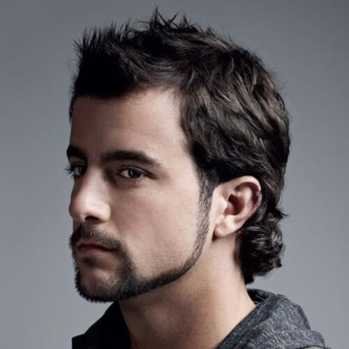 Modern Mullet Hairstyle 1