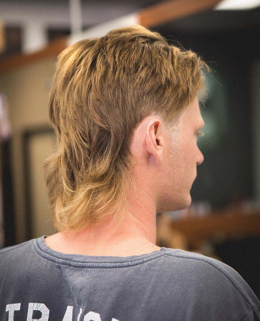 25 Mullet Haircut For Men Trending In October 2019