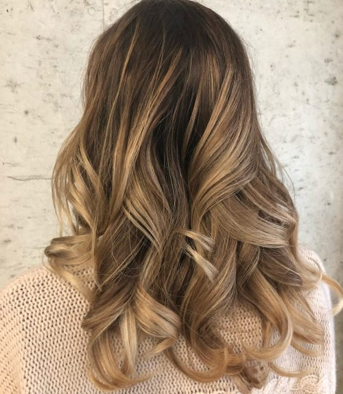 Chocolate Brown Hair With Blonde Highlights And Lowlights 2