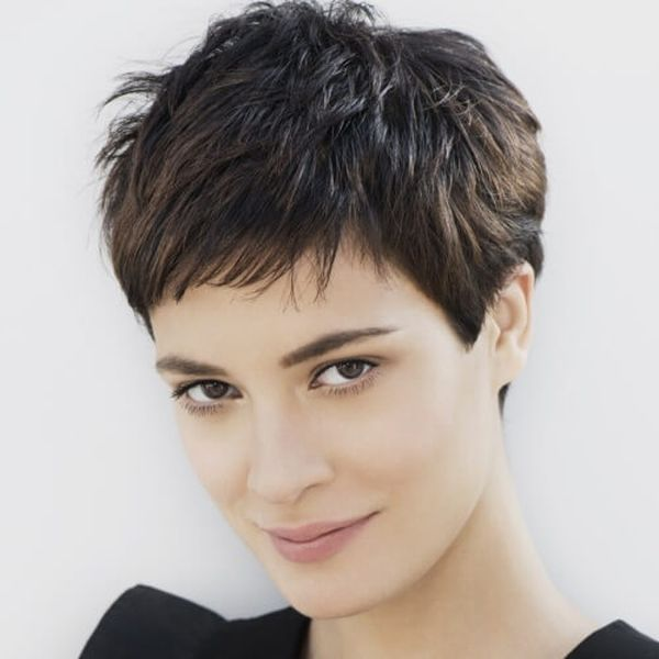 Amazing Short Spiky Haircuts for Thick Hair 3