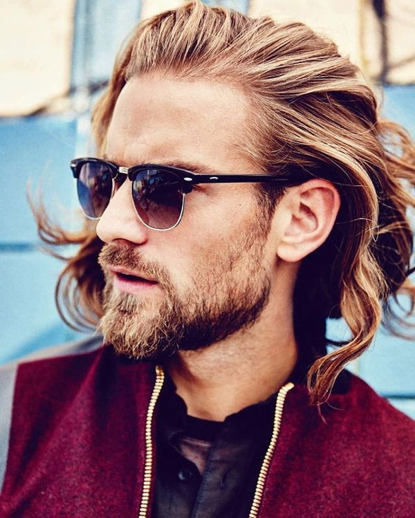 Awesome Long Messy Hair Ideas For Guys 1