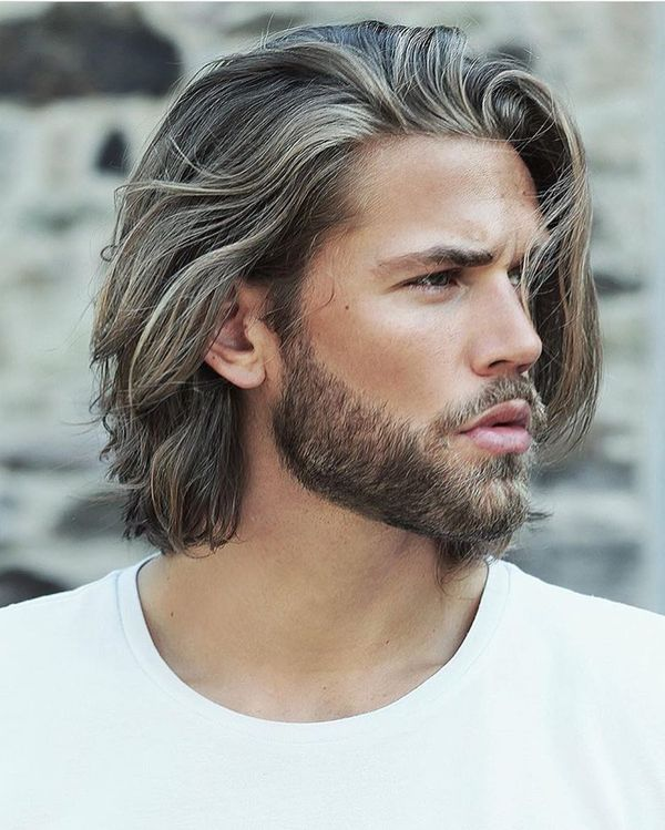 Awesome Long Messy Hair Ideas For Guys 6