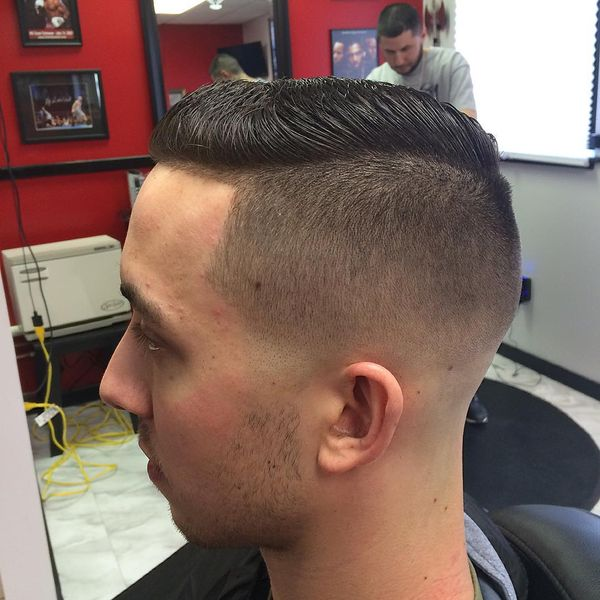Bald tapered fade cuts 1