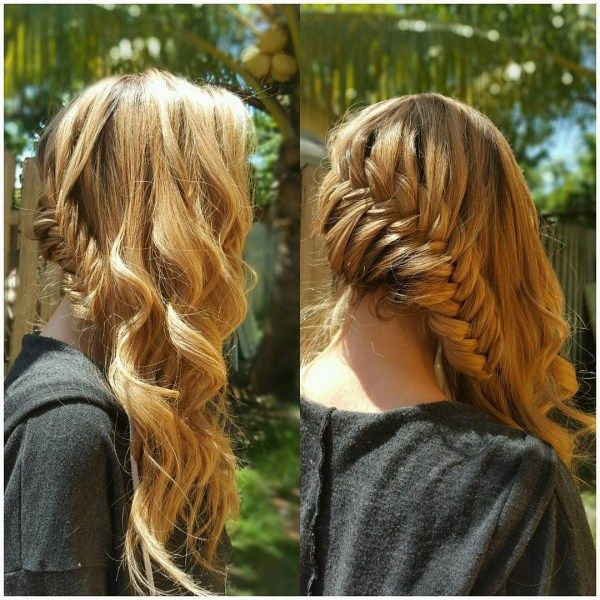 Beautiful long hair styles with braiding 3