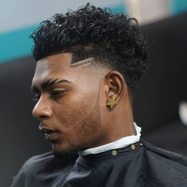 Blowout Haircut for Guys with Curly Hair 3