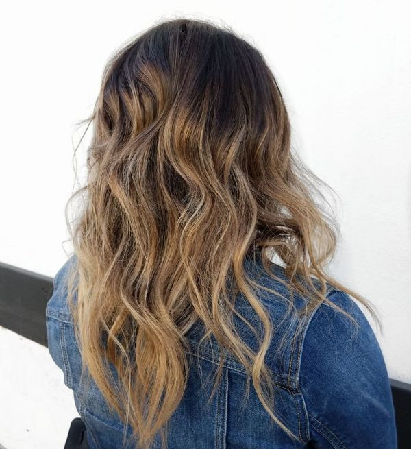 Brown Blonde Balayage On Brown Hair 3