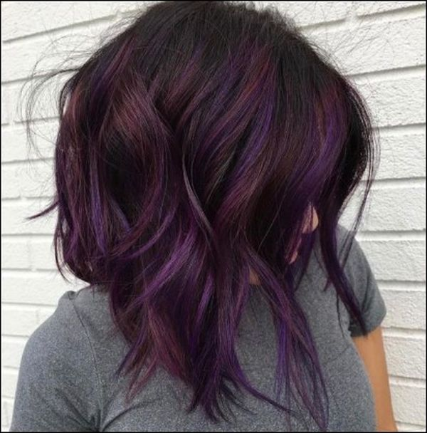 Burgundy Plum Hair Color 3