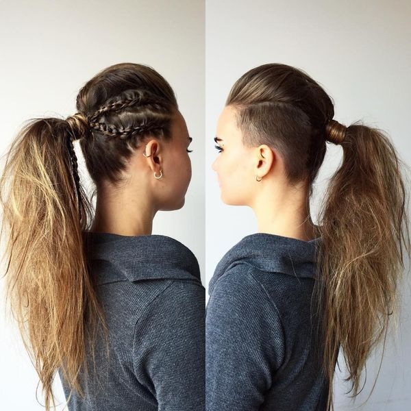 Casual prom up hairstyles for long hair 2