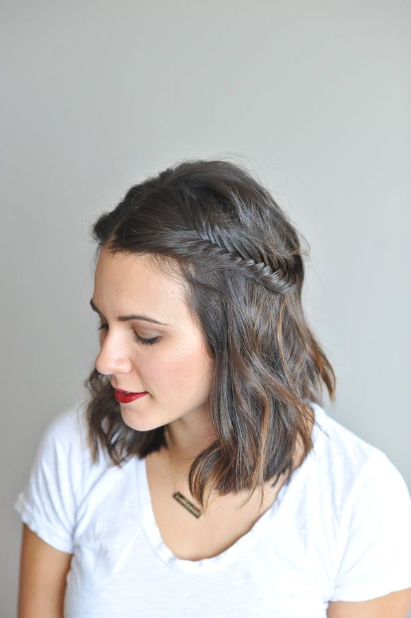Cool Easy To Do Hairdos For Medium Thin Hair 1