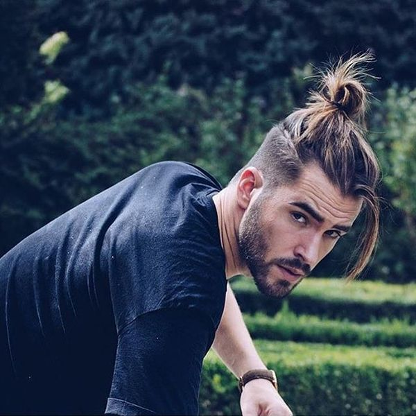 Best Top Knots Hairstyles For Men October 2019