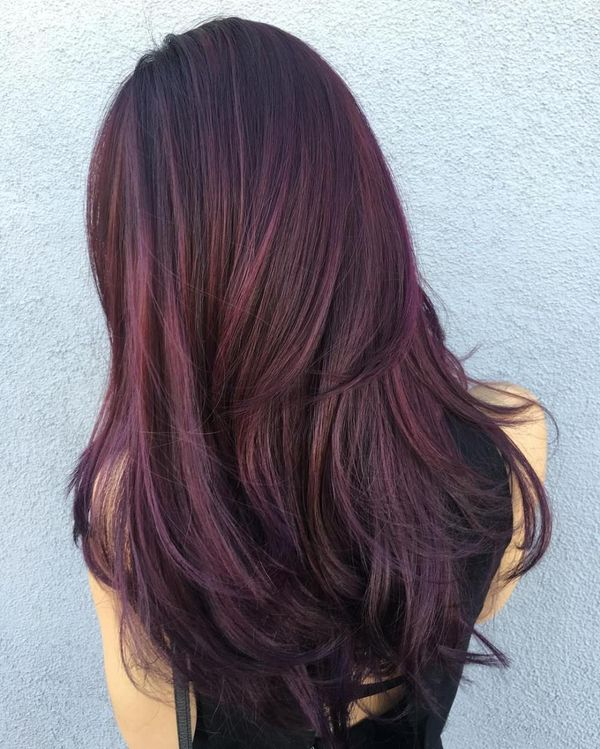 Burgundy Hair Color Ideas: Best Hairstyles for Maroon Hair (May 2019)