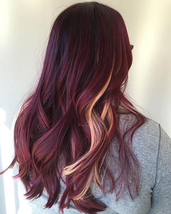 Burgundy Hair Color Ideas Best Hairstyles For Maroon Hair