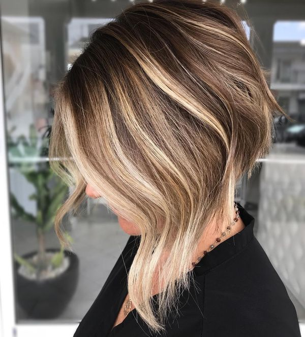 Cool ideas for brown hair color with highlights 1