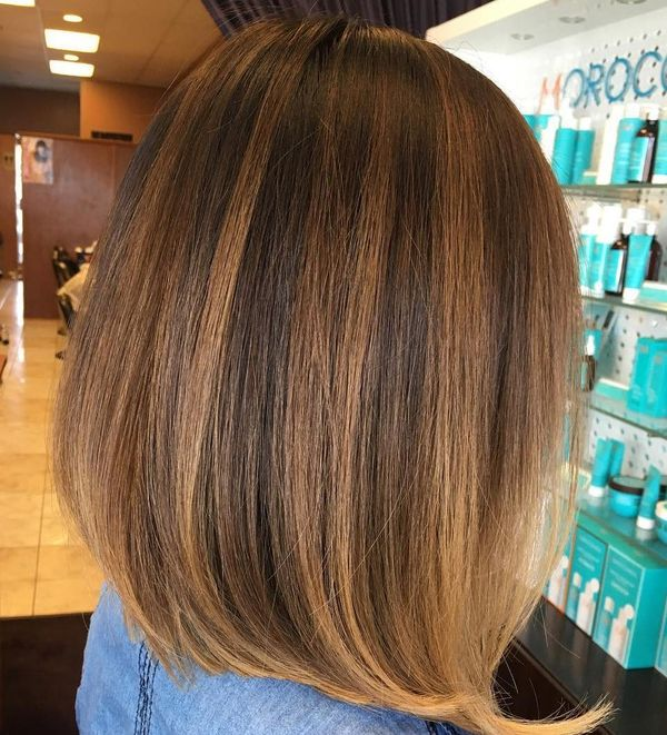 Cool ideas for brown hair color with highlights 2