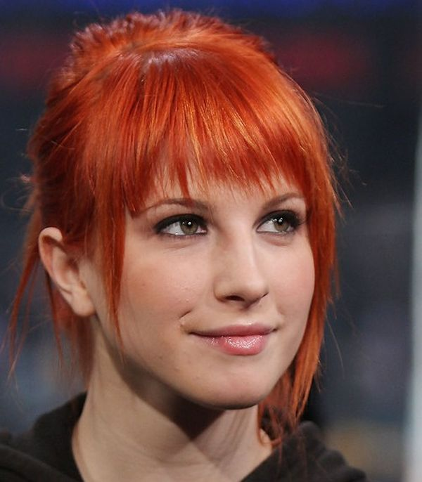 cool short red hairstyles